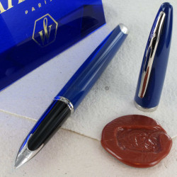 Stylo Plume WATERMAN® Carène Or massif 18 K Blue Obsession ST