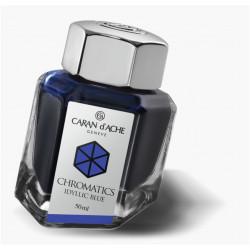Encrier Caran D'Ache® 50ml Bleu Idyllic