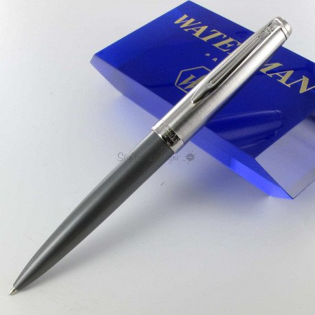 Stylo Bille WATERMAN® Emblème Deluxe Grey CT