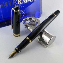 STYLO PLUME (M) expert Laque noire GT de WATERMAN®